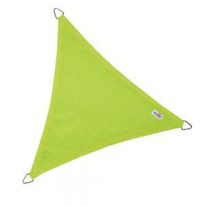 schaduwdoek driehoek limegroen